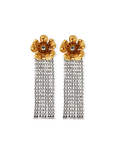 Juliette Crystal-Dangle Earrings