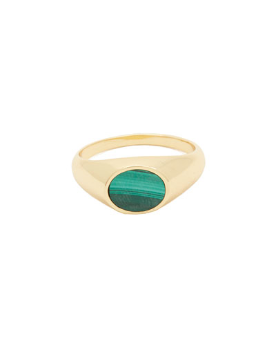 Hayes Signet Ring, Size 6 & 7