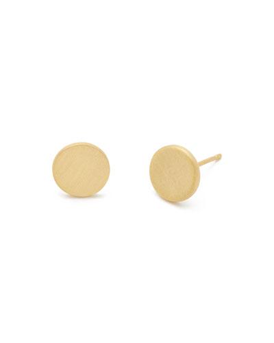 Alta Coin Stud Earrings