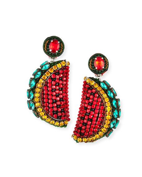 Ranjana Khan Watermelon Clip-On Earrings