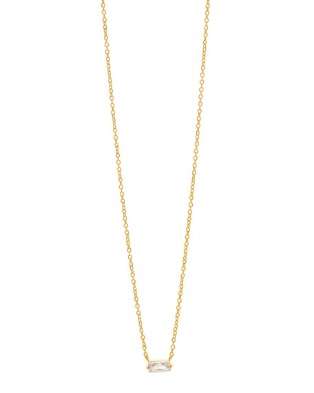 gorjana Amara Solitaire Pendant Necklace