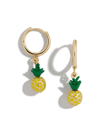 Clover Huggie Hoop Earrings