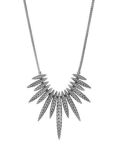 Classic Chain Spear Pendant Necklace