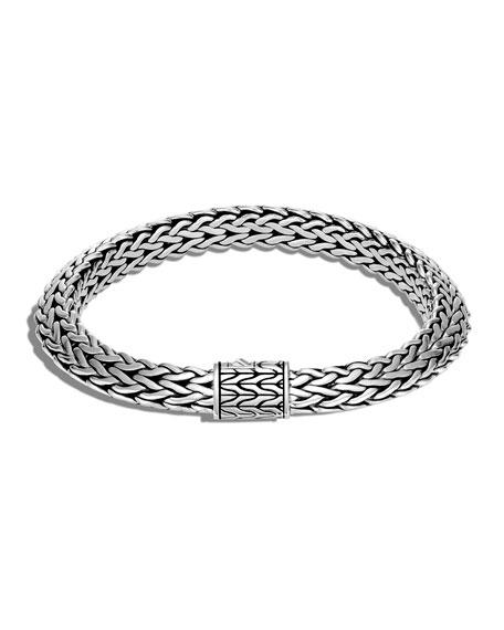 John Hardy Classic Chain Thick Tiga Bracelet, Size S-L