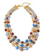 Jose & Maria Barrera 5-Strand Bead & Chain