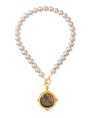 Pearl-Strand Pendant Necklace