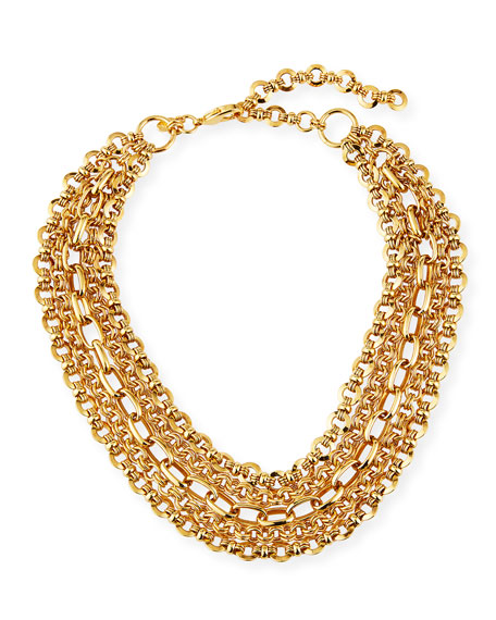 Jose & Maria Barrera 5-Chain Necklace