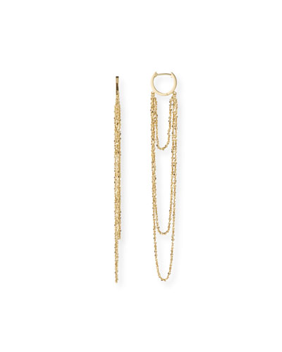Eunice Chain-Dangle Earrings