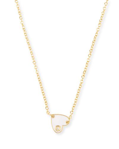 Mia Mini Enamel Necklace