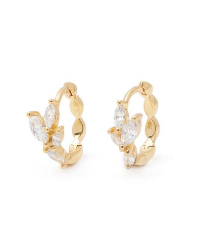 Lena Huggie Hoop Earrings
