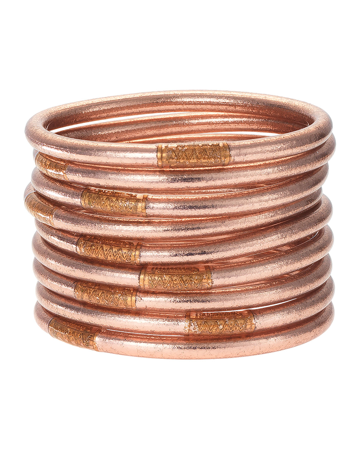 Rose Gold All-Weather Bangles