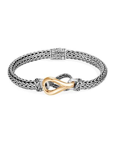 Asli Classic Chain Two-Tone Link Bracelet, Size S-L