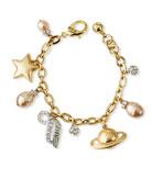 Lulu Frost Saturn Charm Bracelet