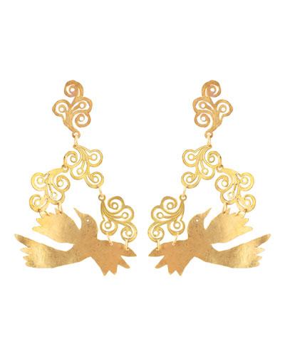Colibri Swirl Earrings