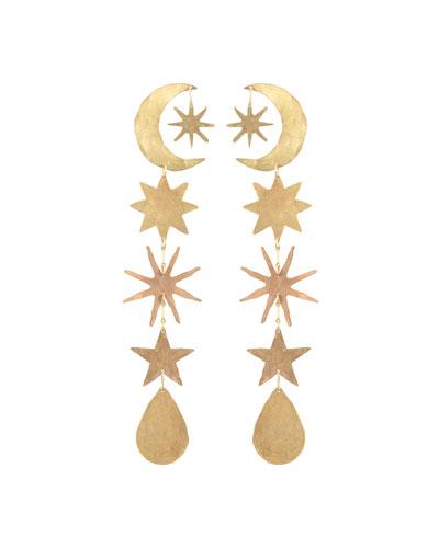 Hour-Long Celestial Earrings