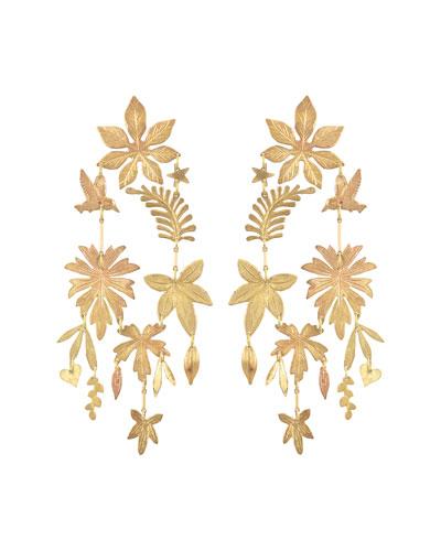Tobago Foliage Earrings