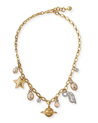 Saturn Statement Necklace