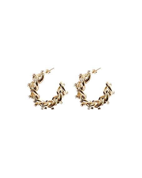 Rosantica Liberta Chain Hoop Earrings
