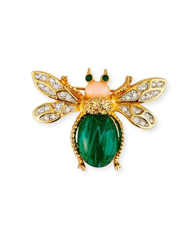 Crystal Bee Pin