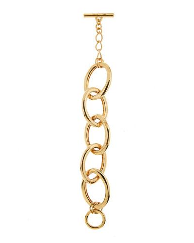 Oversized Chain-Link Bracelet