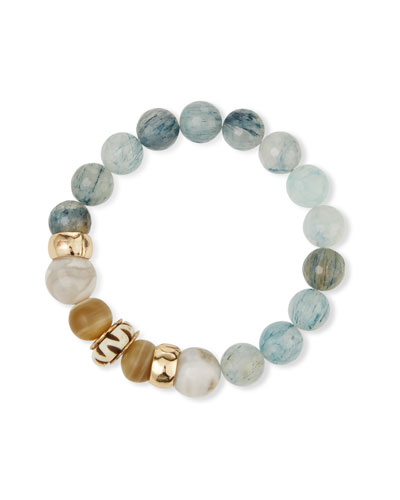 Bone & Horn Stretch Bracelet
