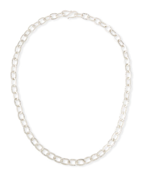 """Dina Mackney Sterling Silver Chain Necklace, 30""""L"""