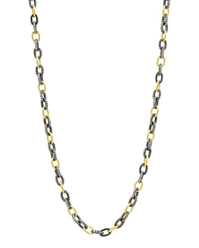 Alternating Chain Link Necklace