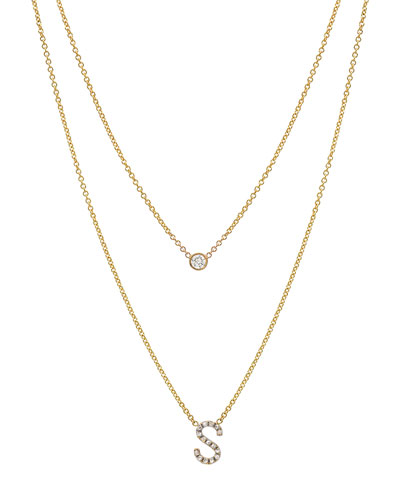 ef0368a1477d8 Gold Initial Jewelry | Neiman Marcus