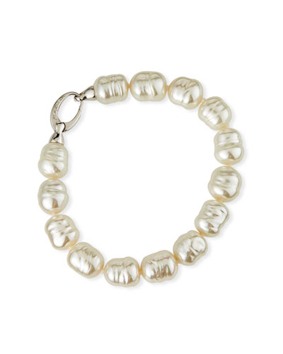 10mm Baroque Pearl Bracelet