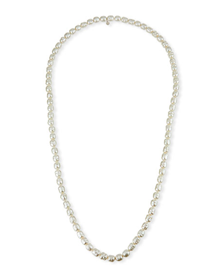 Majorica 10mm Long Pearl-Strand Necklace