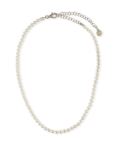 4mm Pearl-Strand Necklace