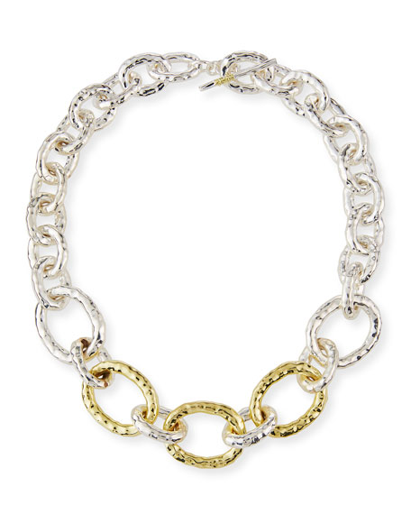 Ippolita Two-Tone Bastille Chain Necklace