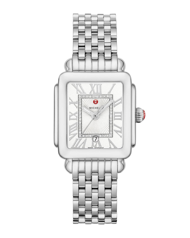 Deco Madison Mid Diamond-Dial Watch