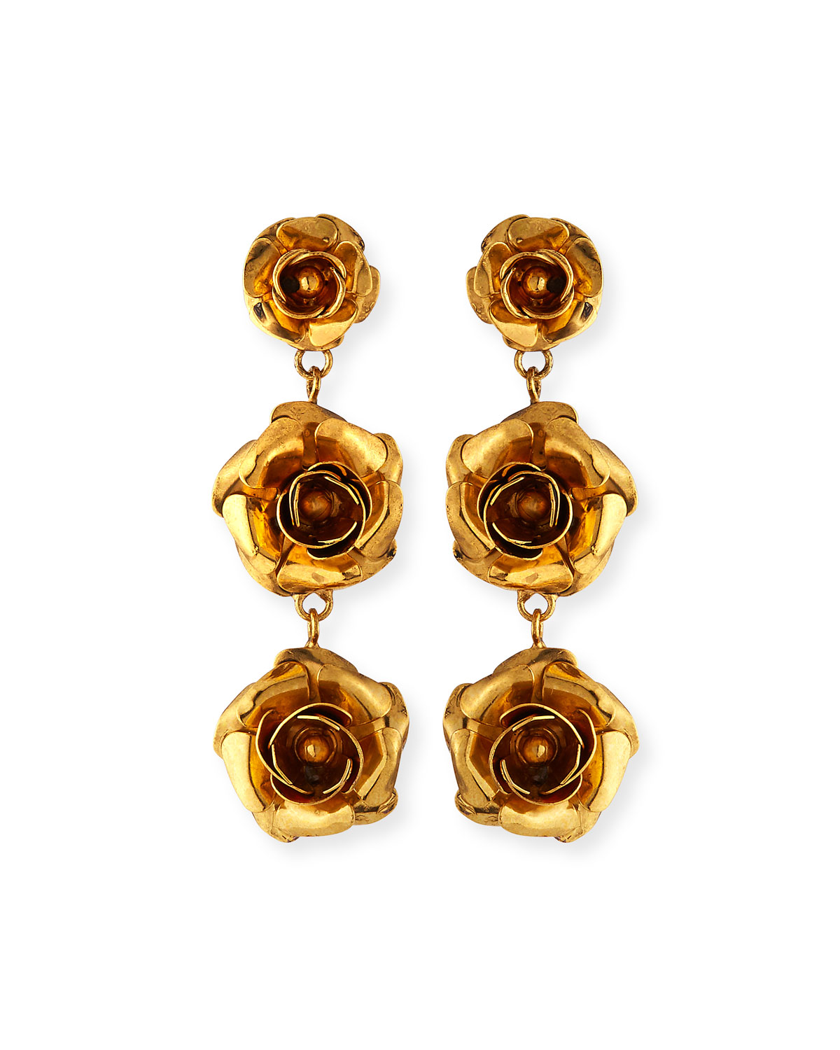 Jennifer Behr Accessories ABIGAIL ROSE-DROP EARRINGS