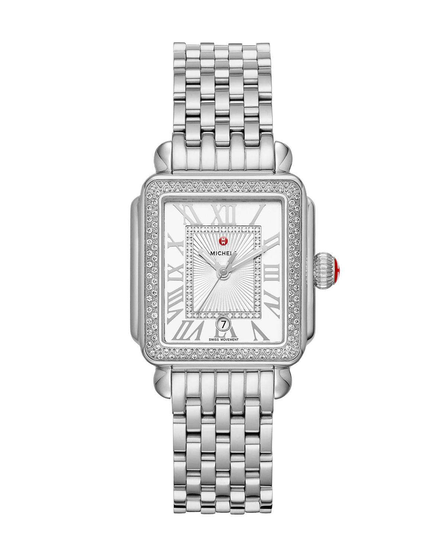 Deco Madison Mid Stainless Steel Diamond Watch
