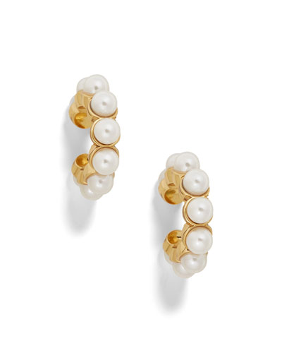 Classic Pearly Ear Cuffs, Set of 2