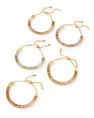 BaubleBar Alidia Bracelets, Set of 5