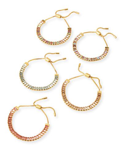 Alidia Bracelets, Set of 5