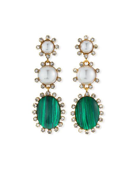 Elizabeth Cole Priscilla Dangle Earrings