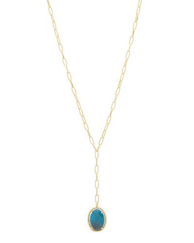 Riviera Stone Lariat Necklace