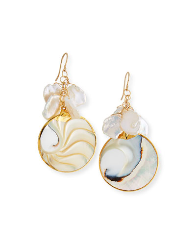 Pearl & Shell Earrings