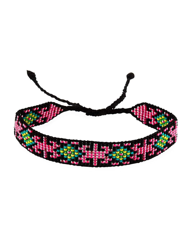Loring Seed Bead Bracelet