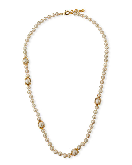 Lulu Frost Explore Daylight Long Pearly Necklace