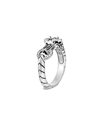 Legends Naga Diamond Pave Ring, Size 7