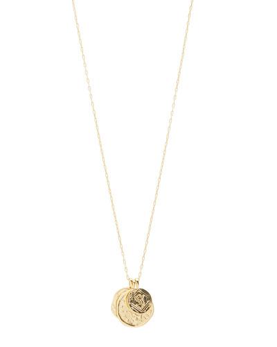 Ana Coin Pendant Necklace