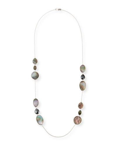 Polished Rock Candy Long Necklace