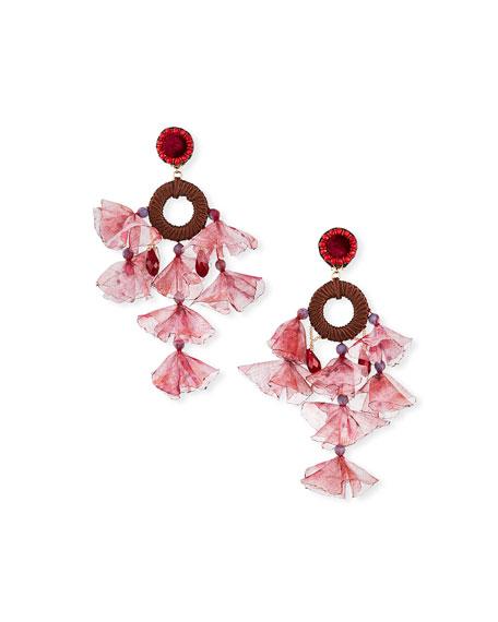 Ranjana Khan Kheta Clip Dangle Earrings