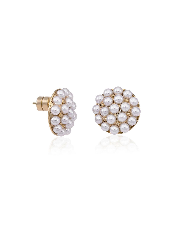 4mm Multi-Pearly Post Earrings