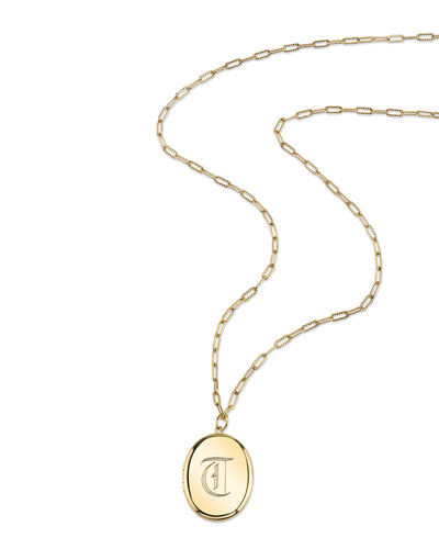Hailey Locket Necklace