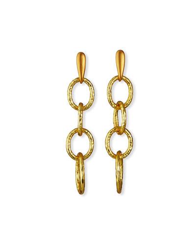 Linear Link Earrings